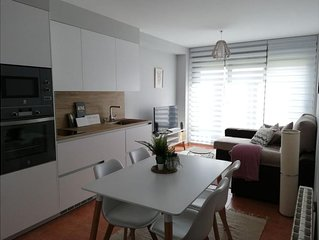 Confortable  Apartamento playa Riasón, con desayuno  y 2 bicis incluidas