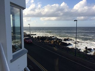 Uninterrupted Views of the Atlantic in a beautiful quiet Portstewart Apartment