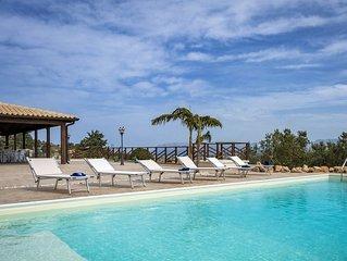 Private villa near the sea and Castellamare del Golfo