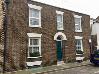 Spacious period cottage in conservation area, close to town, beach, golf courses