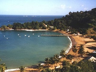 Rainbow lodge Caribbean  romance, private waterfall & secluded beaches -