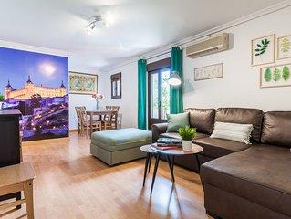 Toledo I - Apartamento para 4 personas en Toledo