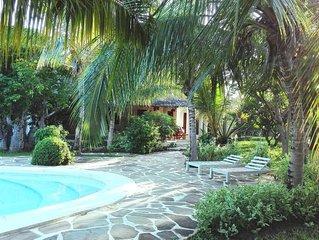 villa Superior con giardino/piscina e personale servizio a 150mt mare
