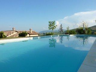 Beautifully restored villa with stunning views