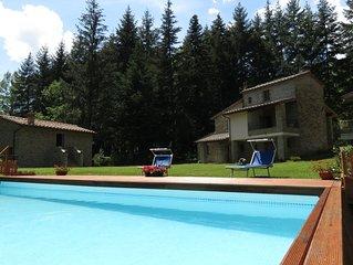 Poppi, Toscana -  Casa Adriana, accogliente dimora tipica nella Tenuta Rocche.