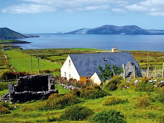 Dormer bungalow facing west in quiet location on the slopes of Cahernageeha Moun