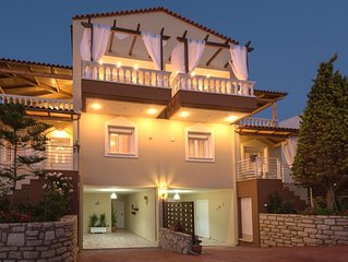 Villa Apollon Crete with Incredible sea,city View
