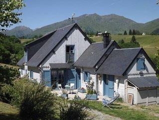 Jolie maison en bois à 1200 m, tout confort, au cœur des Pyrénées avec situation