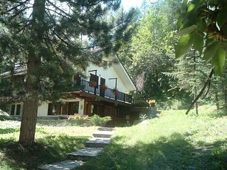 Courmayeur Chalet X 5,vicino a funivia,PARCHEGGIO PRIVATO,giardino ,Wifi,