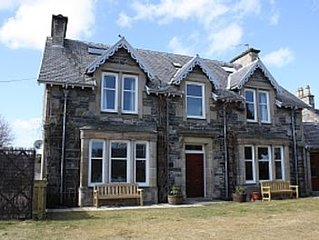 Large Traditional Detached House Within The Cairngorms National Park, Speyside.