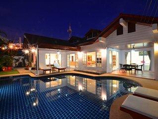 Grand Condo Jasmine pool villa walk to the beach 350 meter