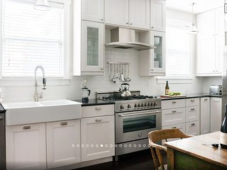 Williamsburg 1 Bedroom Apartment with Huge Private Garden and Cooks Kitchen