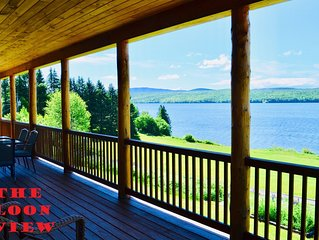 Lake Francis Cabin in the heart of snowmobile country, Pittsburg NH