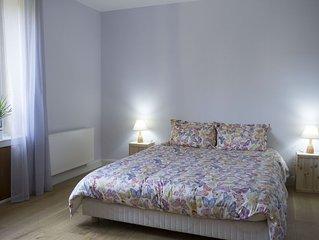 Le Liseron. Appartement lumineux en rez de jardin