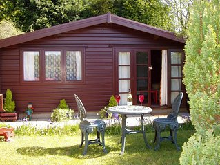 'Pinelodge' - SELF CATERING LODGE -   LLANTRISANT - 12 MILES FROM CARDIFF.