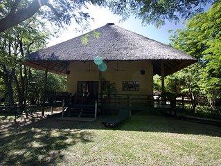 Ruim en luxe safarihuis nabij Krugerpark (ZA)