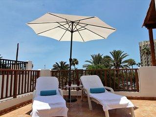 Appartement Playa de las Américas 2 à 4 personnes vue mer piscine chauffé
