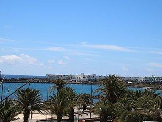 Apartamento en primera linea de playa con vistas sobre la Bahia de Las Cucharas