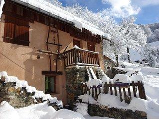 Appartement a Valloire dans un chalet traditionnel