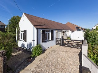 NEW - Detached Bungalow in Central Village within walking distance of beach