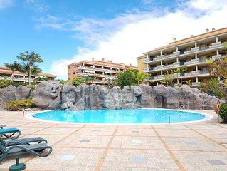 Apartamento de lujo con piscina, parking privado y gimnasio
