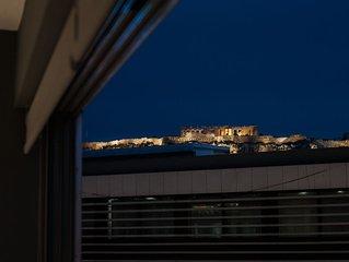 Luxurious apartment Acropolis view, Ermou street