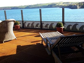 Gardener's Lodge at the Seaside in Kinsale, County Cork, Southern Ireland