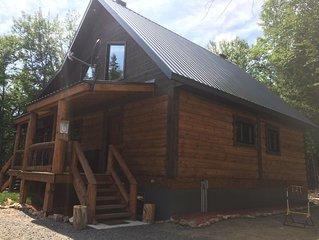 Superb log home cabin