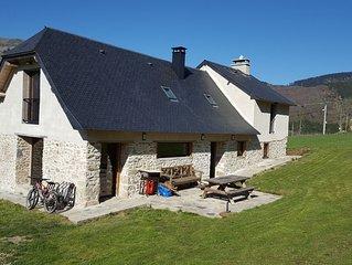 Grange de montagne spacieuse,  magnifiquement restaurée, vue imprenable