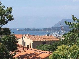 Très bel Appartement vue Mer, au pied du Faron LOCATION JUILLET ; AOUT ; SEPT