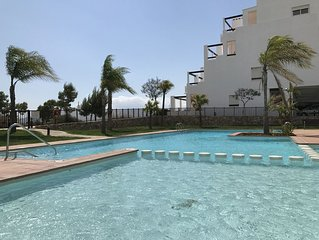 LUXURY PENTHOUSE GULF VIEW - Condado de Alhama Golf Resort (at the golf course)