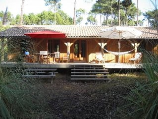 Cap-Ferret Jolie villa dans le foret a deux pas du Bassin et a 500m de l'Ocean