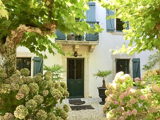 Appartement dans vieille maison familiale de charme au coeur de Guéthary