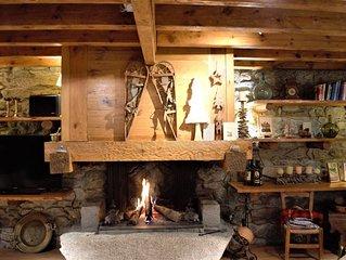 Lujosa Casa Tradicional de Montaña y aspecto alpino / de 8 a 12 personas.