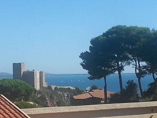 Talamone: toscana, maremma bilocale con vista mare