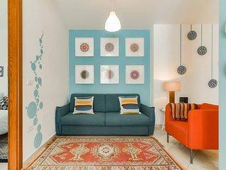 Appartamento nuovo, centrale, posto auto, free Wi-Fi, aria condizionata