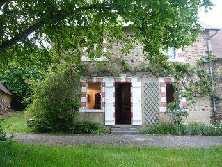 Maison indépendante avec jardin - Classée meublé de tourisme 3 étoiles.