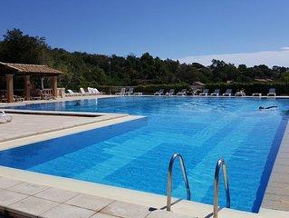 Magnifique appartement aux issambres avec  superbe vue golfe de St Tropez