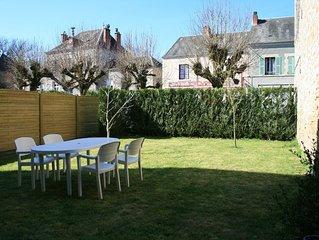 App.2 pers.<Les4Tilleuls>jardin cloture, parking prive,acces Espace bien etre
