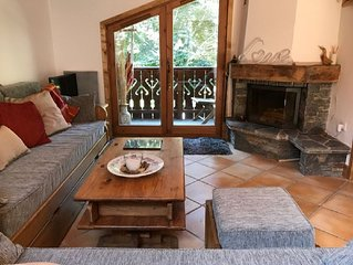 Unusual chalet apartment in perfect Chamonix location