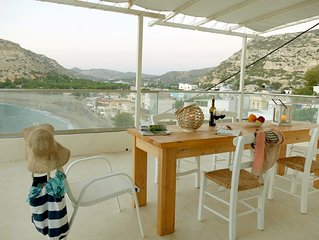 Bella Vista Matala holiday house with 3 bedrooms