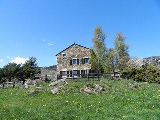 Très belle maison de vacances d'hiver ou d'été à Font-Romeu-Odeillo-Via.