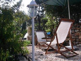 Coquet Type 2 dans villa independant - jardin prive arbore de 400 M2