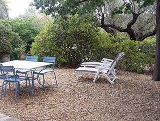 T2 dans villa avec jardin proche plage renecros