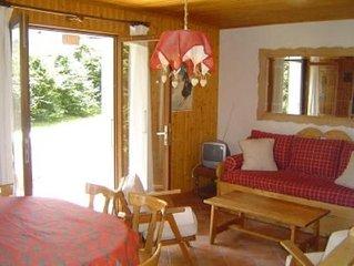 Appartement à Megève - Haute Savoie - au pied des pistes, et près du centre.