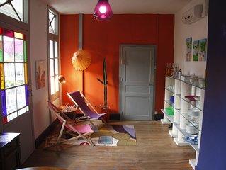 Pavillon de charme, ideal pour couple aves ou sans enfant!