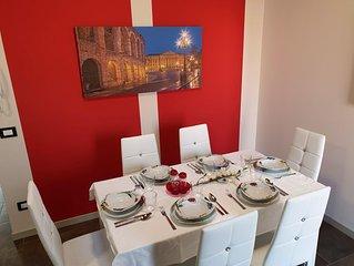 Appartamento fino a 6 posti letto nel centro storico di Verona