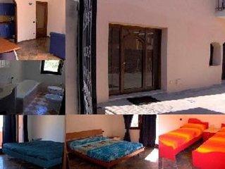 Appartamento climatizzato di mq 80 per 4-6 posti letto in zona residenziale molt