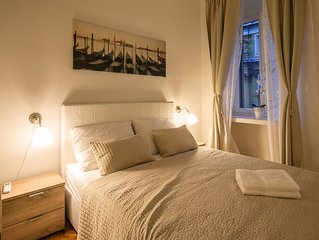 Modern and stylish apartment in the city center Bella Fiume 1