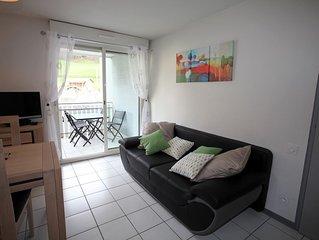 Appartement  4 personnes renove debut 2018 classe 2*  terrasse a Luz St Sauveur